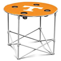 University of Tennessee Volunteers Round Folding Table with Carry Bag