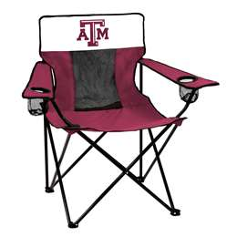 Texas A&M Aggies Elite Folding Chair with Carry Bag