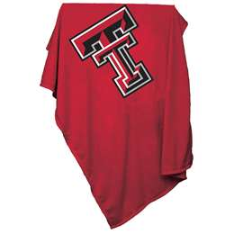 Texas Tech Red Raiders Sweatshirt Blanket 74 -Sweatshirt Blnkt