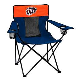 UTEP University of Texas El Paso Elite Folding Chair with Carry Bag