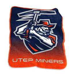 UTEP Mavrik Raschel Throw