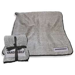 "Vanderbilt University Comodores Frosty Fleece Blanket 60"" X 50"""