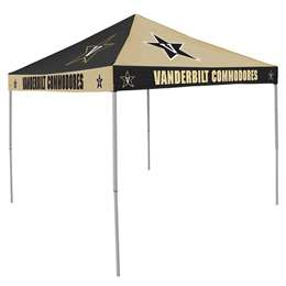 Vanderbilt University Commodores   9 ft X 9 ft Tailgate Canopy Shelter Tent