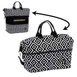 Vanderbilt University Commodores Expandable Tote Bag