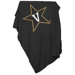 Vanderbilt University Commodores Sweatshirt Blanket 74 -Sweatshirt Blnkt
