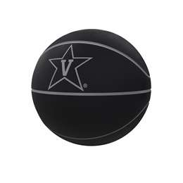 Vanderbilt University Commodores Blackout Full-Size Composite Basketball 91FC - FS Comp BB