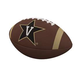 Vanderbilt University Commodores Team Stripe Full-Size Composite Football 93FC - FS Comp FB