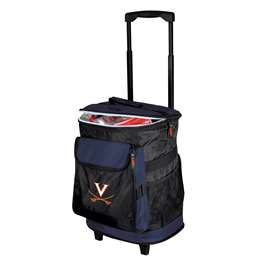 University of Virginia Cavaliers 48 Can Rolling Cooler