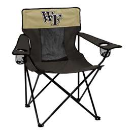 Wake Forest University Deamon Decons Elite Folding Chair with Carry Bag