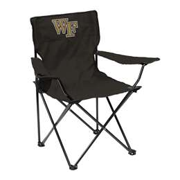 Wake Forest University Deamon Deacons Quad Chair Folding Tailgate