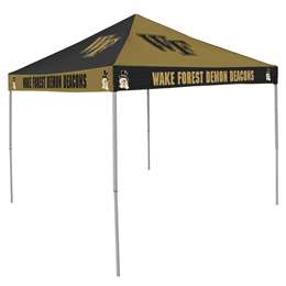 Wake Forest University Deamon Decons   9 ft X 9 ft Tailgate Canopy Shelter Tent