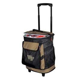Wake Forest University Deamon Deacons 48 Can Rolling Cooler