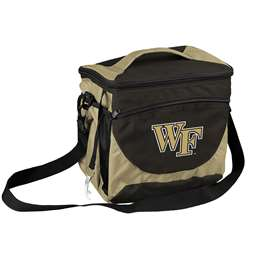 Wake Forest University Deamon Deacons 24 Can Cooler