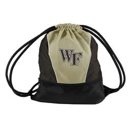 Wake Forest University Deamon Deacons Spirit String Pack Tote