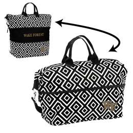 Wake Forest University Deamon Deacons Expandable Tote Bag