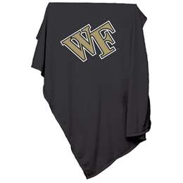 Wake Forest University Deamon Deacons Sweatshirt Blanket