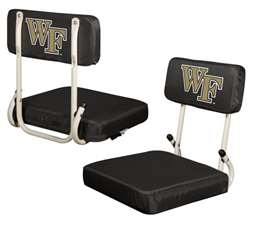 Wake Forest University Deamon Deacons Hardback Stadium Seat