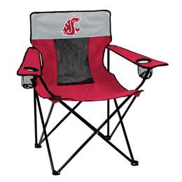 Washington State University Cougars Elite Folding Chair with Carry Bag