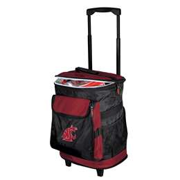 Washington State University Cougars 48 Can Rolling Cooler
