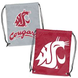 Washington State University Cougars Doubleheader Backsack 87D - Dbl Head Strin
