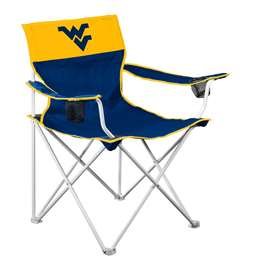 West Virginia Mountaineers Big Boy Folding Chair with Carry Bag