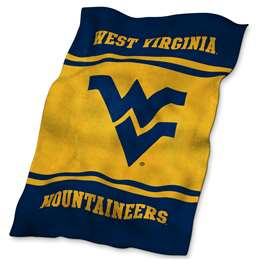 University of West Virginia Mountaineers UltraSoft Blanket - 84 X 54 in.