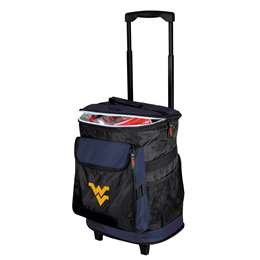 University of West Virginia Mountaineers 48 Can Rolling Cooler
