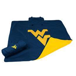 University of West Virginia Mountaineers All Weather Stadium Blanket