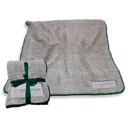 "William and Mary University Frosty Fleece Blanket 60"" X 50"""