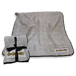 "Wichita State University Shockers Frosty Fleece Blanket 60"" X 50"""