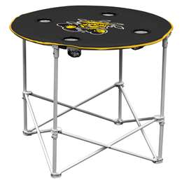 Wichita State University Shockers Round Table Folding Tailgate