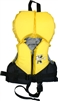 FuzionX 4-Belt Infant Ski Vest  Yellow/Black