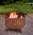 City Lights Fire Pit - Georgia Clay - Memphis