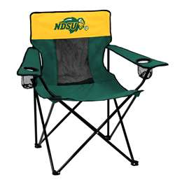 North Dakota State University Bison Elite Folding Chair with Carry Bag