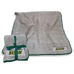 "North Dakota State University Bison Frosty Fleece Blanket 60"" X 50"""