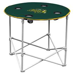 North Dakota State University Bison  Round Table Folding Tailgate Camping