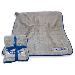 "Creighton University  Frosty Fleece Blanket 60"" X 50"""