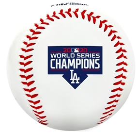 Los Angeles Dodgers 2020 World Series Champions Replica Baseball
