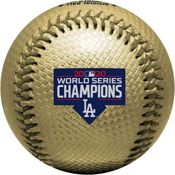 Los Angeles Dodgers 2020 World Series Replica Baseball