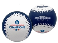 Los Angeles Dodgers 2017 National League Champions Rawlings Baseball