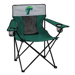 Tulane University Greenwave Elite Folding Chair with Carry Bag