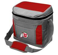 University of Utah Utes 16 Can Cooler with Ice - Coleman
