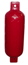 "Boat Fender 6.5"" X 22"" Red"