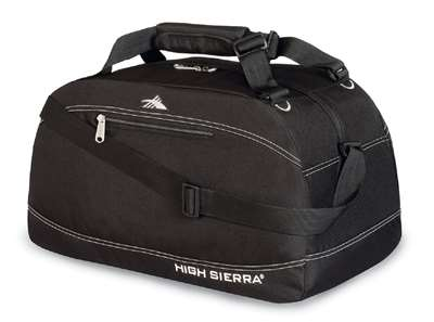 "High Sierra 24"" Pack-N-Go Duffel Black"