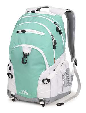 High Sierra BTS Backpacks LOOP DAYPACK AQUAMARINE/WHITE/ASH