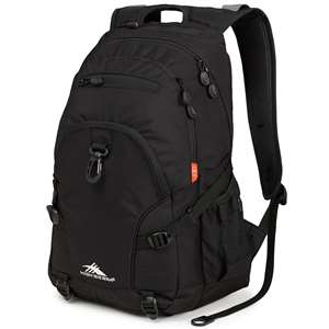 High Sierra BTS Backpacks LOOP DAYPACK BLACK