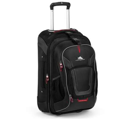 "High Sierra ROLLING BACKPACK 22"" BLACK"