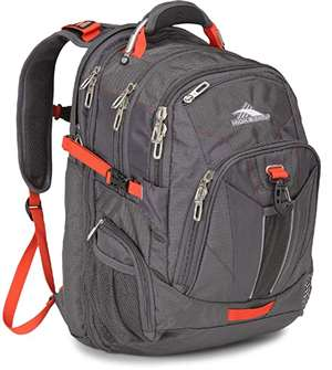 High Sierra HS XBT TSA Backpack                                   MERCURY/CRIMSON