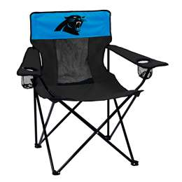Carolina Panthers Elite Folding Chair with Carry Bag
