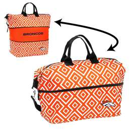 Denver Broncos Double Diamond Expandable Tote